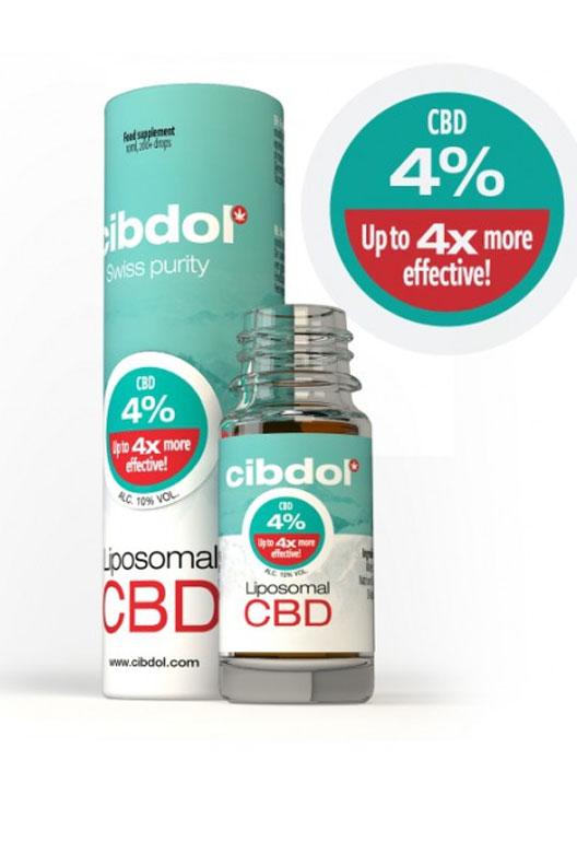 Cibdol Liposomal CBD Oil 4%.